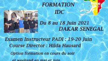 Formation Instructeur PADI à Dakar Juin 2021